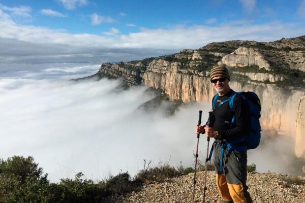 guide de montagne au Parc Naturel du Montsant