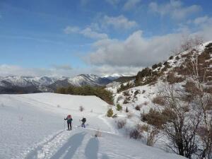 séjour raquettes dans les pyrénées catalanes   Parc Alt Pirineu