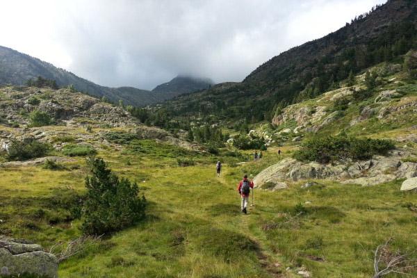 randonnées en hiver   Pallars Sobirà