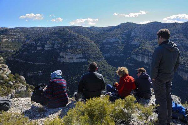 trekking ou randonnee pyrenees espagnole